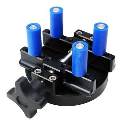 upper torque fixing plates offer highly versatile sample fixturing