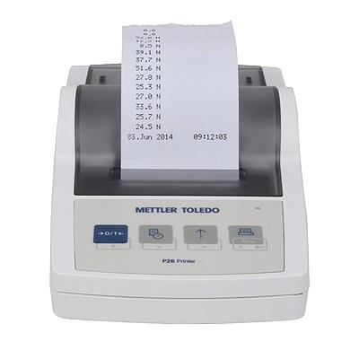Non-thermal printer for digital closure testers