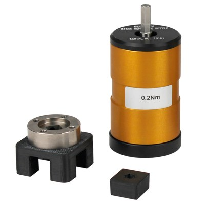 This accessory provides a means of quickly verifying the calibration of motorised torque measuring systems