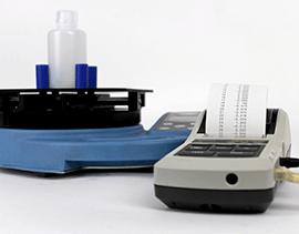 A digital torque meter with printer for recording the closure torque