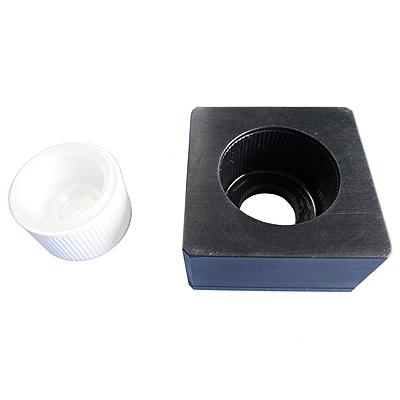 Custom profiled mandrels assure acurate removal torque measurement of CRC caps