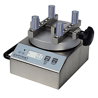 Test caps and closures quickly with the CAPTEST digital torque measurement instrument