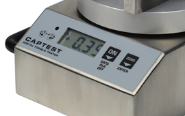 Simple key controls, clear display of closure torque measurement