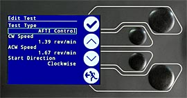 Vortex-dV has simple controls