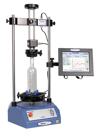 Motorised, computer-controlled torque testers can measure breakaway, slip and bridge torques in TE twist caps and closures