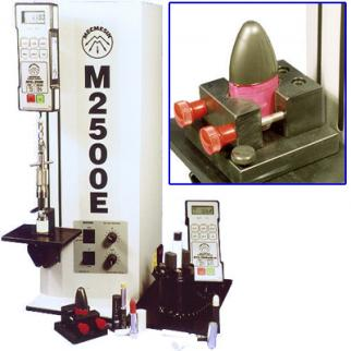 Pull-off and twist closures for cosmetics containers can be tested by motorised testers