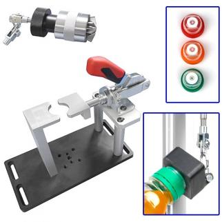 Custom fixtures are required to meet ISBT tension test standards