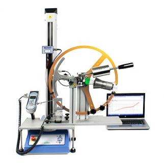 Complete system solution for preloading, rotational force measurement and pass/fail indication
